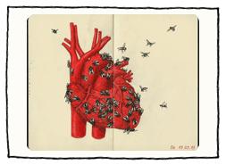 Illustriertes Herz